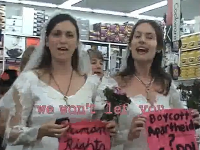 BRIDES BOYCOTT AHAVA AND SODASTREAM