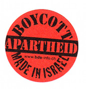Boykottiert Apartheid Made in Israel