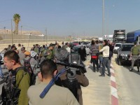 Palestinian 'car protest' in West Bank challenges road segregation