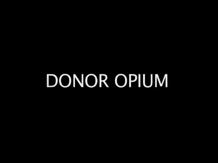 DONOR OPIUM, the impact of international aid to Palestine