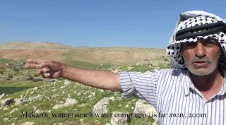 Water situation in the Jordan valley (Homsa and Fasayel)