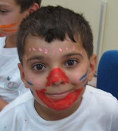 (Teilnehmer des 'Smile and Joy Summer Camp' 2008 der FGHA in Nablus)