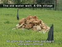 Palestinian village suffers from ongoing water shortage